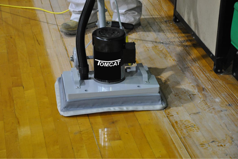 Floor sanding polishing chemical free stripping for 110v floor sander