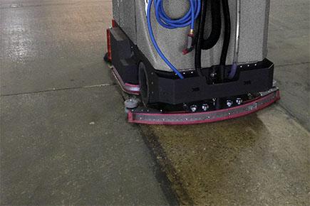 concrete floor cleaner machine
