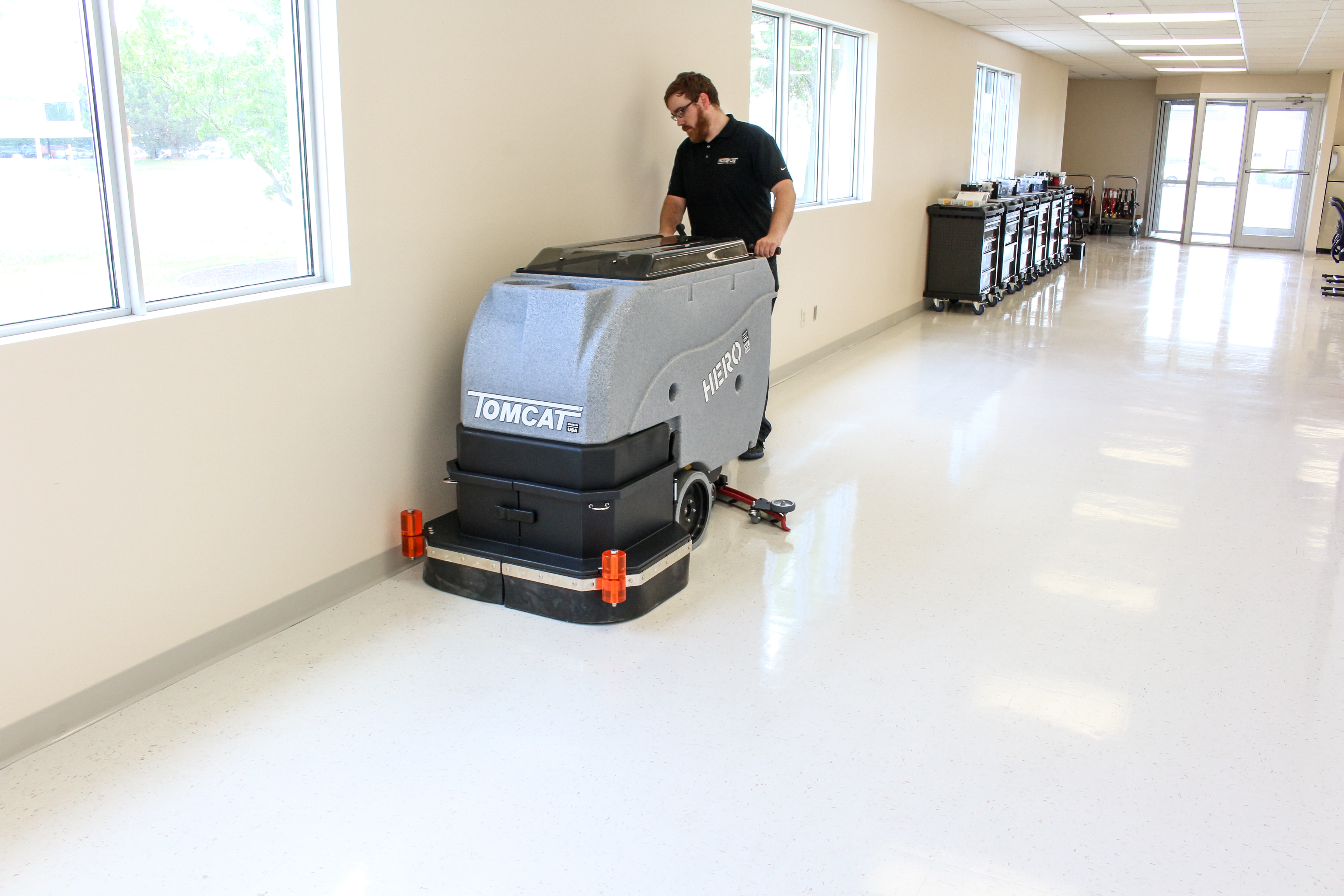 drier floor tomcat scrubber sport powerful free cleaning chemical tc compact edge for floors
